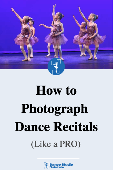how to photograph dance recitals like a pro